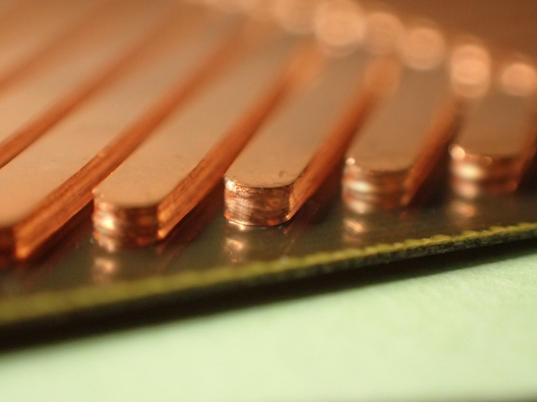 極厚回路形成基板サンプル
