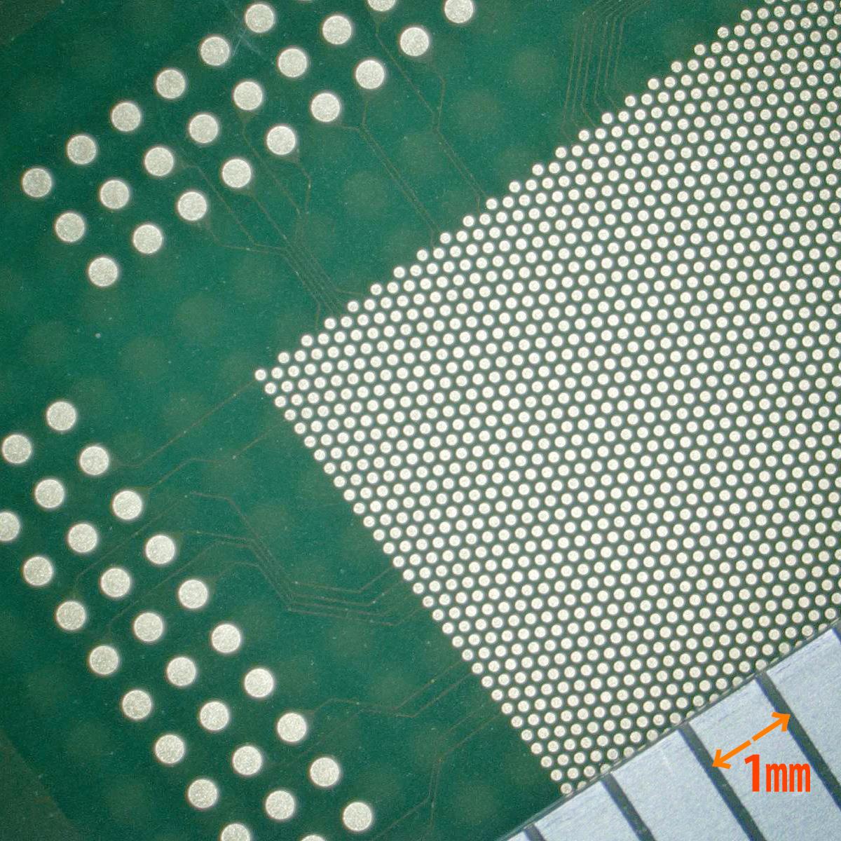 フリップチップ実装基板サンプル